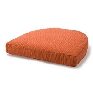 Patio Seat Cushions Amazon by Amazon Com Wicker Seat Club Chair Cushion Patio