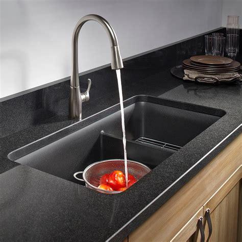 kohler d bowl sink kohler k 8204 cm1 cairn undermount double bowl kitchen
