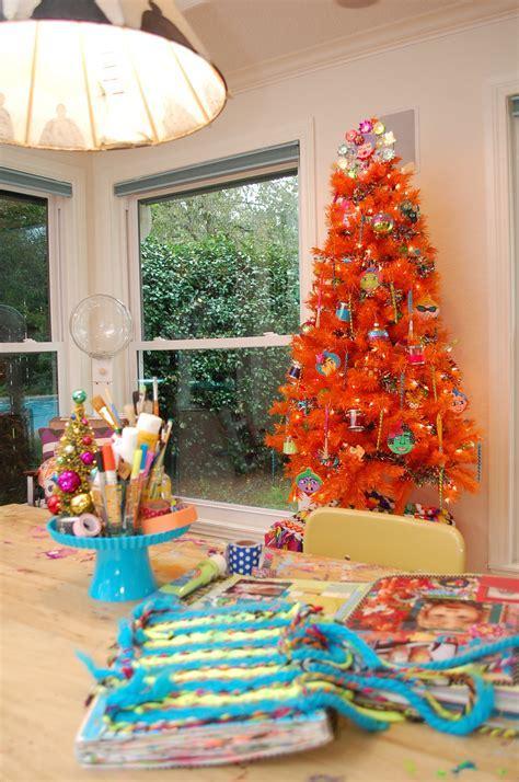 paint brush christmas tree