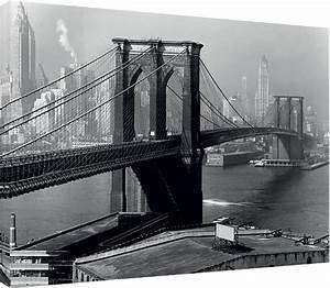 New York Leinwand : leinwand poster bilder time life brooklyn bridge new york 1946 bei europosters ~ Markanthonyermac.com Haus und Dekorationen