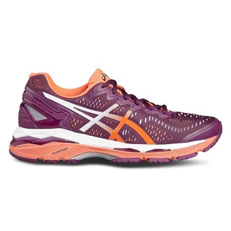 asics gel kayano  ladies running shoes