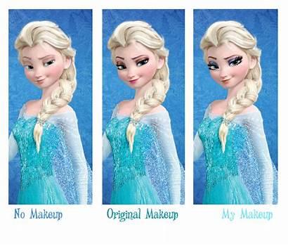 Elsa Makeup Edit Photoshop Fun Deviantart Fan