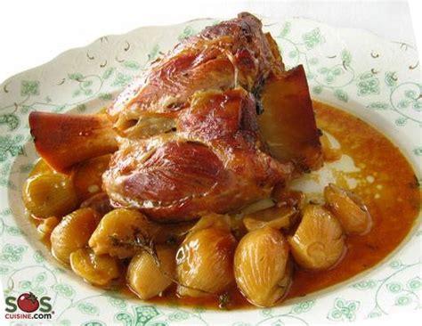 jarret de veau cuit lentement avec romarin 233 chalotes et vin de muscat