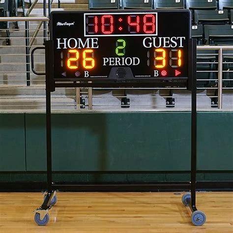 multisport indoor scoreboard bsn sports