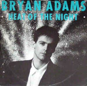 Bryan Adams  Heat Of The Night (vinyl) At Discogs