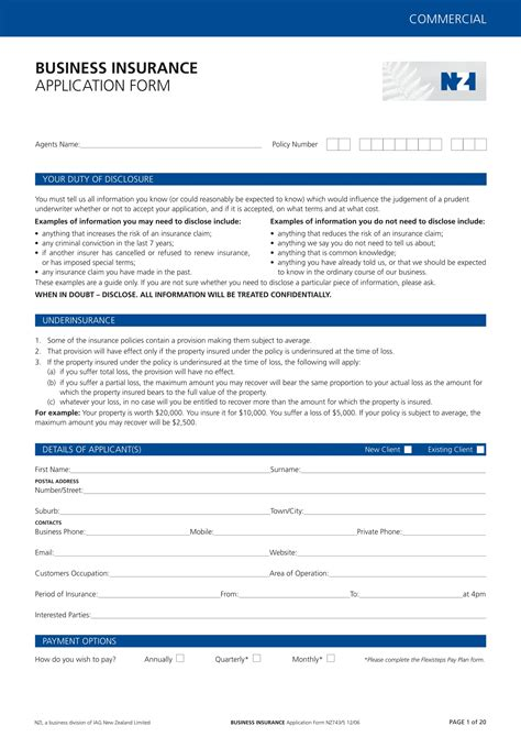 Signing of this application does not bind the undersigned to purchase this insurance, nor does it bind the insurer to complet e this insurance. FREE 15+ Business Forms for Car Dealers in PDF