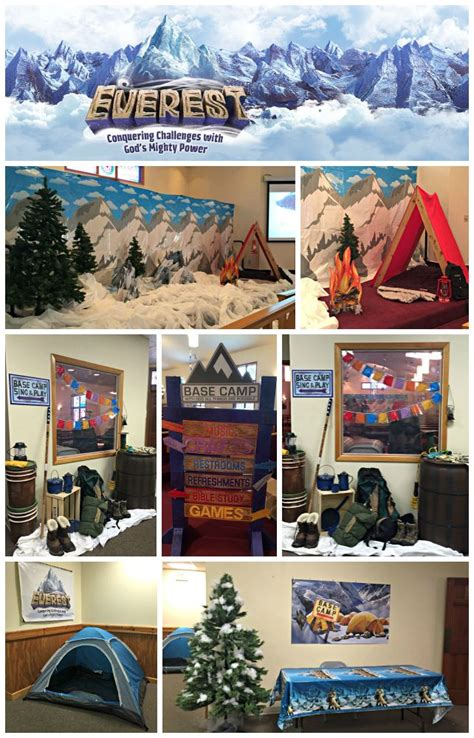 Decorating Ideas For Everest Vbs by Everest Vbs Decorating Joyful Musings
