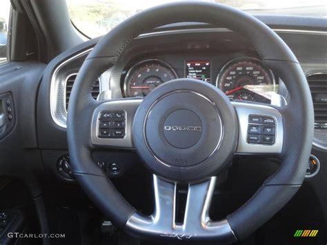 dodge charger srt black steering wheel photo  gtcarlotcom
