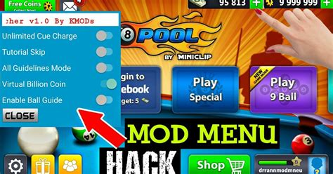 8 pool hack mods