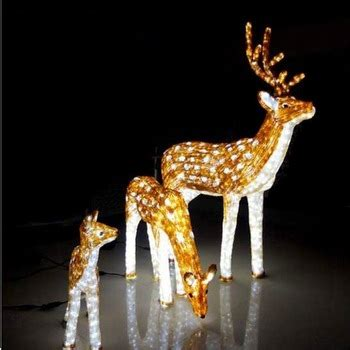led motif light 3d outdoor christmas reindeer lights buy