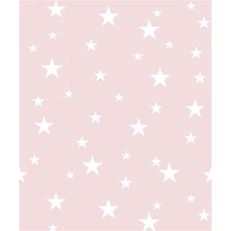 arthouse blush pink diamond stars glitter wallpaper