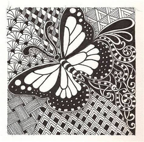 images  zentangle drawings  pinterest