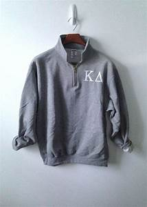 1 4 zip pullover sorority letters on etsy 3800 tsm With 4 zip letters
