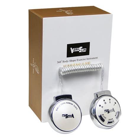 ve burning stomach slimming vibration machine alat pijat pelangsing white
