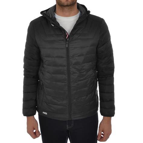 mens light jacket puffa mens lightweight jacket hooded padded bomber