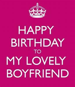 HAPPY BIRTHDAY TO MY LOVELY BOYFRIEND Poster | Bianca ...