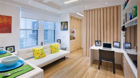 How To Fit 5 Rooms In A 340squarefoot Nyc Apartment