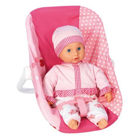 position siège bébé voiture siège auto pour poupée bebe king jouet accessoires