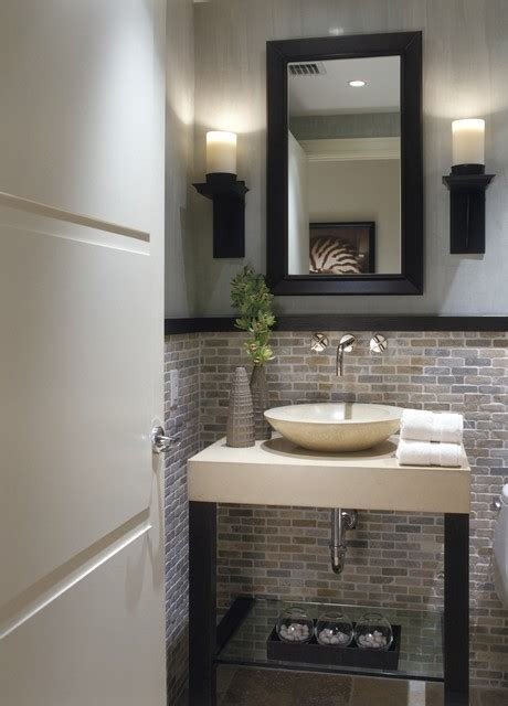 modern powder room design ideas
