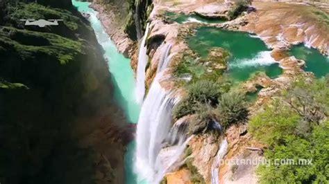 Cascada De Tamul Desde El Aire Huasteca Potosina Dji