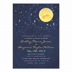 personalized starry night invitations With starry night wedding invitations template