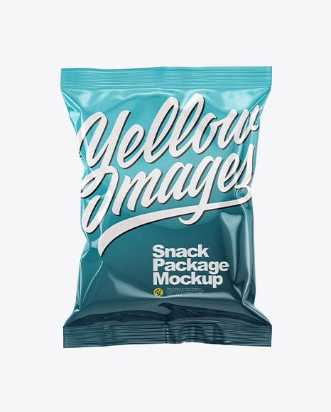 Resolve the captcha to access the links! Glossy Snack Package Mockup in Bag & Sack Mockups on ...