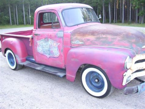 sell used 1950 chevy truck rat rod in wisconsin rapids wisconsin united states