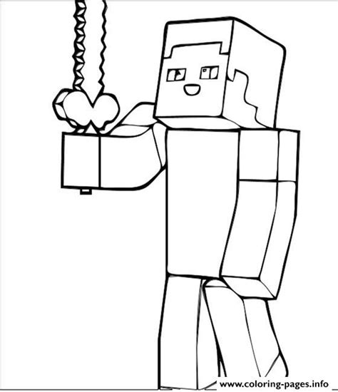Kleurplaten Minecraft Wolf.Minecraft People Free Coloring Pages