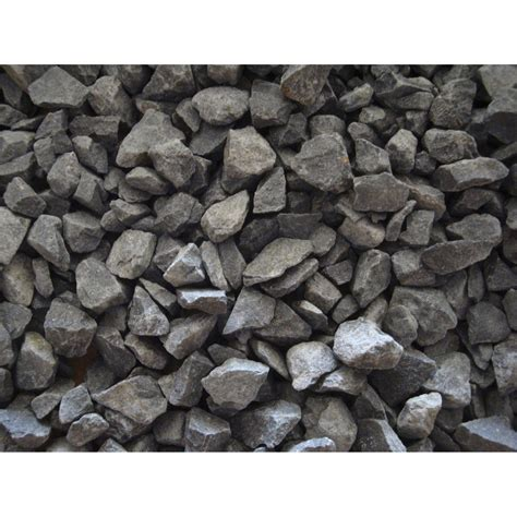 graviers naturelle noir basalte 6 14mm 25 kg leroy merlin