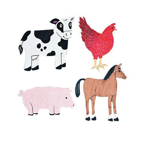 farm animals cut outs diy farm animal cutouts trading discontinued