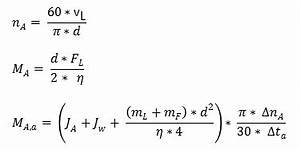 Massenträgheitsmoment Berechnen : kupplung und antriebsmoment berechnen ~ Themetempest.com Abrechnung