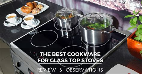 glass cookware stoves