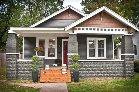 chicago bungalow house plans brick craftsman bungalow style homes pix for brick
