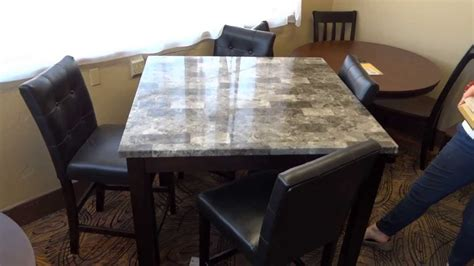 furniture maysville dining table set d154 review