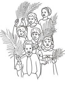 hosanna  jesus coloring page  printable coloring pages