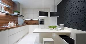 Cuisine Ikea Blanche Et Bois : cuisine blanc et bois idee cuisine ouverte u2013 nancy ~ Dailycaller-alerts.com Idées de Décoration