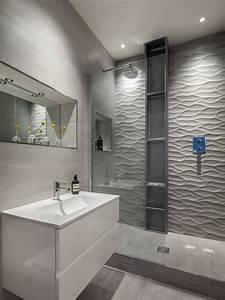 les 25 meilleures idees de la categorie carrelage mural With salle de bain design avec carrelage décoratif mural