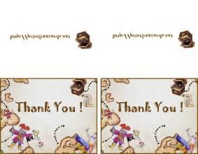 Free Printable Kids Thank You Card