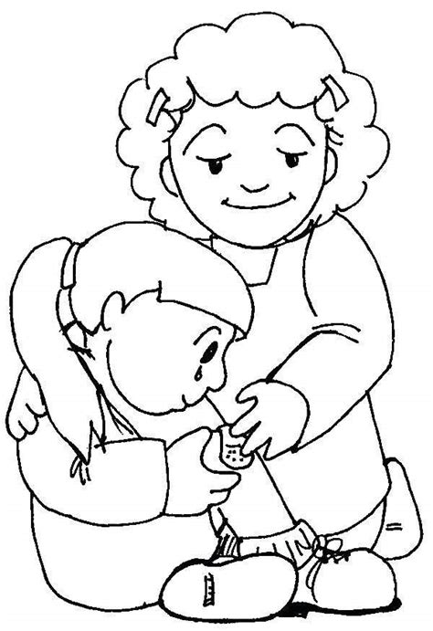 kindness coloring pages  drawings showing