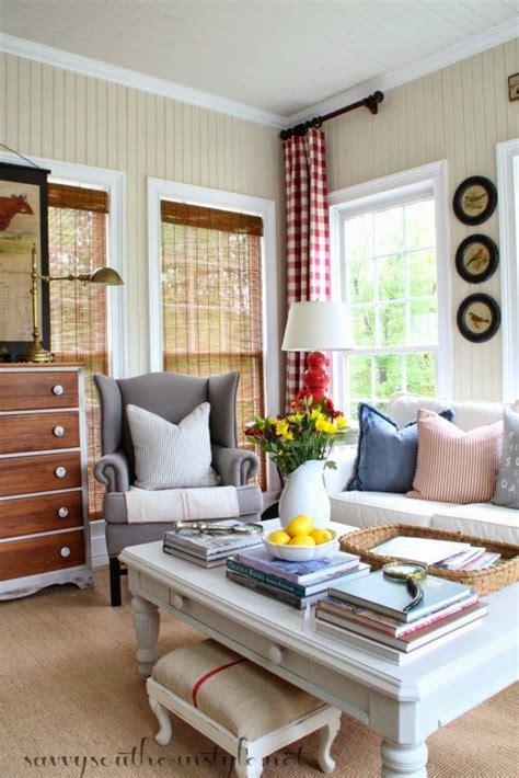 savvy southern style spring   sunroom