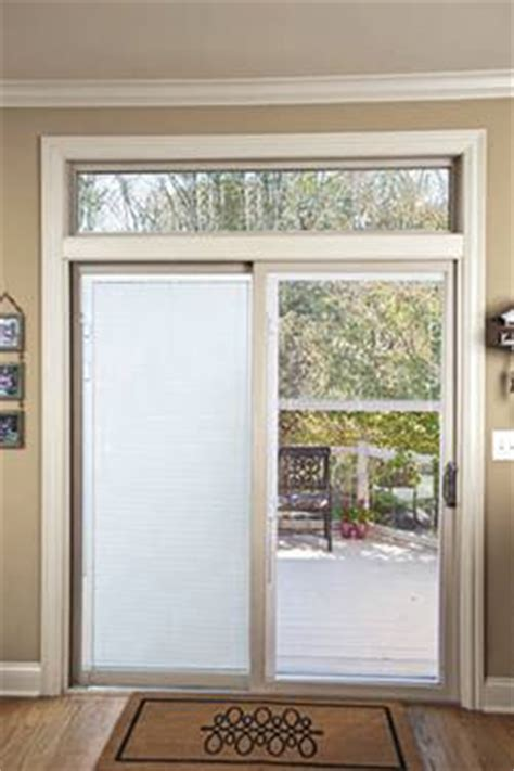 patio doors with built in blinds feldco windows siding
