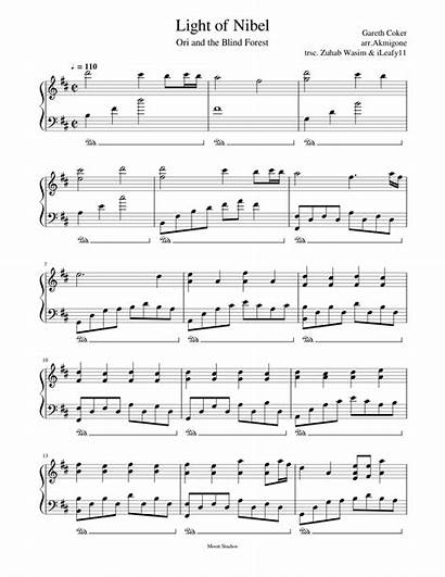 Sheet Musescore Piano Nibel Score