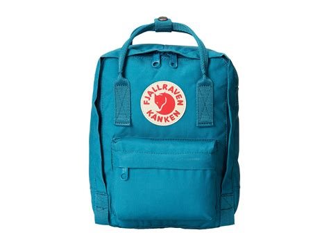Fjallraven Kånken Mini In Blue (ocean Green)