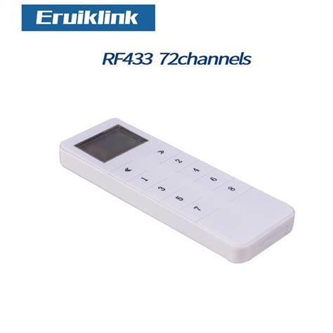 eruiklink wall light switch accessories remote controller switch remote controller for rf433