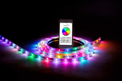 smart home light strips first bluetooth controlled smart led lighting strip