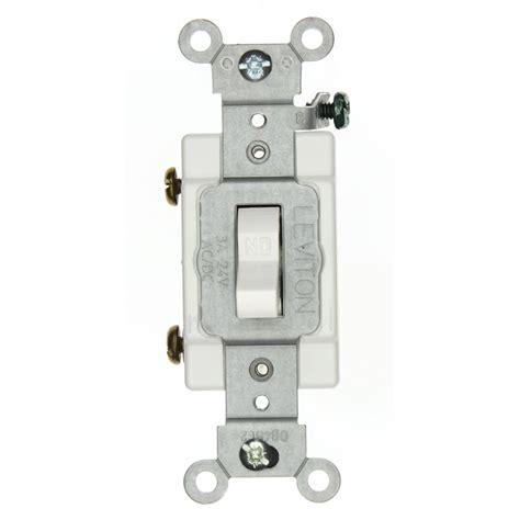 leviton 3 industrial grade heavy duty single pole