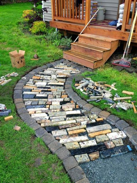 changer assise canapé créer le plus beau jardin avec le gravier pour allée