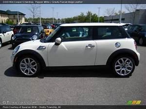 Mini Cooper Beige : 2009 mini cooper s hardtop in pepper white photo no 8676636 ~ Maxctalentgroup.com Avis de Voitures