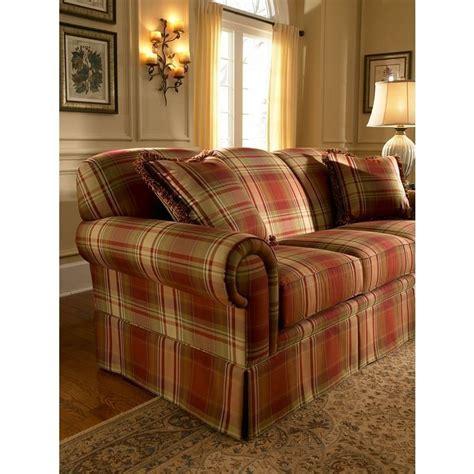 plaids für sofas the tremont plaid sofa set