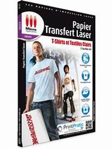 Papier Transfert Tee Shirt : papier transfert laser textiles clairs ~ Melissatoandfro.com Idées de Décoration